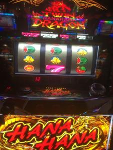 ドラゴン ハナハナ ベル ツイン